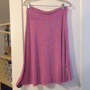 Large Azure skirt Lularoe